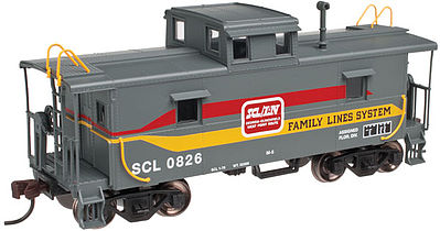 Atlas Trainman Cupola Caboose Family Lines #0826 -- N Scale Model Train Freight Car -- #50002584