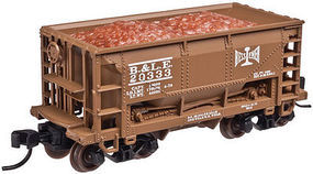 Trainman 70 Ton Ore Car B&LE #20001 N Scale Model Train Freight Car #50002621