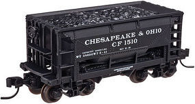 Trainman 70 Ton Ore Car Chesapeake & Ohio #1520 N Scale Model Train Freight Car #50002626