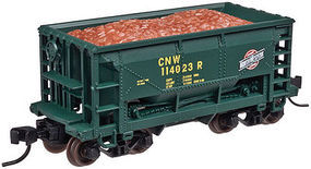 Trainman 70 Ton Ore Car Chicago & North Western #113902 N Scale Model Train Freight Car #50002629