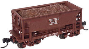 Trainman 70 Ton Ore Car SOO Line #81919 N Scale Model Train Freight Car #50002631