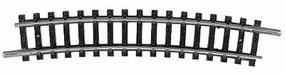 Trix (bulk of 10) Code 80 Curved Track R3-15 Degree Section N Scale Nickel Silver Model Train Track #14917