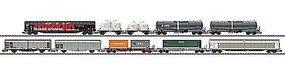 Trix Modern RR 10-Car Set - N-Scale