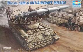 Trumpeter Russian SAM6 Anti-Aircraft Missile with Launcher Plastic Model Kit 1/35 Scale #00361