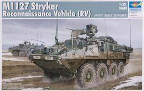 Trumpeter M1127 Stryker Recon Vehicle (RV) Plastic Model Military Kit 1/35 Scale #00395