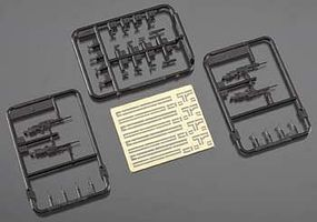 Trumpeter SL8 German Training Rifles (4) Plastic Model Military Weapon 1/35 Scale #00521