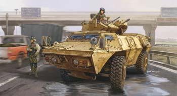Trumpeter M1117 Guardian Armored Security Vehicle -- Plastic Model Military Kit -- 1/35 Scale -- #01541