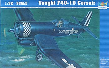 Trumpeter F4U1D Corsair Aircraft -- Plastic Model Airplane -- 1/32 Scale -- #02221