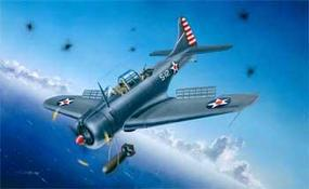 Trumpeter SBD3/4/A-24A Dauntless US Navy Aircraft Plastic Model Airplane Kit 1/32 Scale #02242