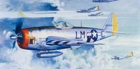 Trumpeter P47D Thunderbolt Bubbletop Fighter Plastic Model Airplane 1/32 Scale #02263