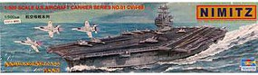 Trumpeter USS Nimitz CVN-68 Aircraft Carrier Plastic Model Military Ship Kit 1/500 Scale #05201