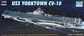 Trumpeter USS Yorktown CV10 Aircraft Carrier Plastic Model Military Ship Kit 1/700 Scale #05729