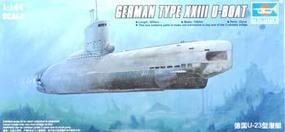 Trumpeter German Type XXIII Late Production U-Boat Plastic Model Military Ship 1/144 Scale #05908