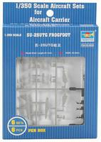 Trumpeter Su25UTG Frogfoot Set of 6 for Modern Russian Carriers Plastic Model Airplane 1/350 #06229