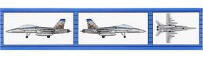 Trumpeter F/A-18D Hornet (6) Plastic Model Airplane Kit 1/350 Scale #06234
