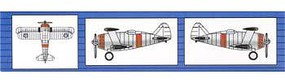 Trumpeter F3F Fighter-Single Eng Bipe (6) Plastic Model Airplane Kit 1/350 Scale #06245