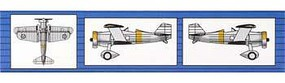 Trumpeter BFC Bomber/Fighter Aircraft Fleet(6) Plastic Model Airplane Kit 1/350 Scale #06246