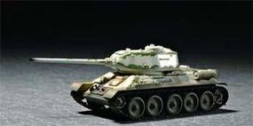 Trumpeter Soviet T34/85 Mod 1944 Army Tank Plastic Model Military Vehicle 1/72 Scale #07209