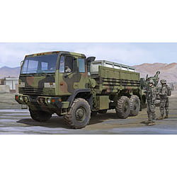 Trumpeter M1083 MTV US Cargo Truck -- Plastic Model Military Vehicle Kit -- 1/35 Scale -- #1007