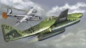 Trumpeter Messerschmitt Me262A1a German Fighter Plastic Model Airplane Kit 1/144 Scale #1319
