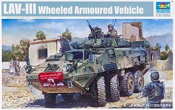 LAV III 8x8 Kodiak Light Armored Vehicle    Plastic Model Military Vehicle     1/35 Scale    #1519