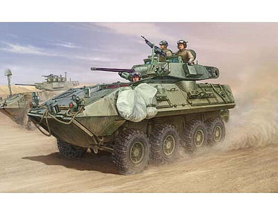 Trumpeter LAV A2 8x8 Light Armored Vehicle    Plastic Model Military Vehicle  Kit