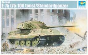 Trumpeter German E75 Panther (75-100 Ton) Tank Plastic Model Military Vehicle Kit 1/35 Scale #1538