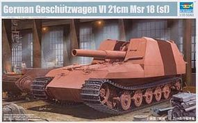 Trumpeter German Geschutzwagen VI Tiger Grille 21cm Msr 18 (sf) Plastic Model Kit 1/35 Scale #1540