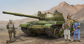 Trumpeter Russian T62 Mod 1975 (Mod 1962+KTD2) Tank Plastic Model Military Vehicle 1/35 Scale #1551