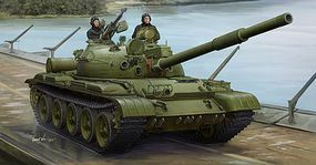 Trumpeter Russian T-62 Mod 1975 Tank Plastic Model Military Vehicle Kit 1/35 Scale #1552