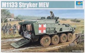Trumpeter M1133 Stryker Medical Evacuation Vehicle (MEV) Plastic Model Military Kit 1/35 Scale #1559