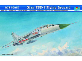 Trumpeter Xian FBC1 Flying Leopard Aircraft Plastic Model Airplane Kit 1/72 Scale #1608