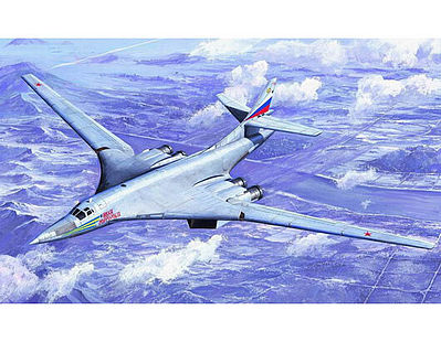 Trumpeter Russian Tu160 Blackjack Bomber Aircraft -- Plastic Model Airplane Kit -- 1/72 Scale -- #1620