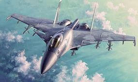 Trumpeter Sukhoi Su-33 Flanker-D Russian Fighter Plastic Model Airplane Kit 1/72 Scale #1667