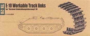 Trumpeter E-10 Workable Track Link Set -- Plastic Model Vehicle Assortment -- 1/35 Scale -- #2058