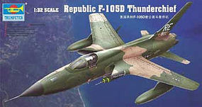Trumpeter F105D Thunderchief Aircraft Plastic Model Airplane Kit 1/32 Scale #2201