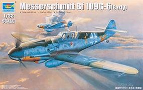 Trumpeter Messerschmitt Bf109G6 German Fighter Early Version Plastic Model Airplane 1/32 Scale #2296