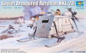 Trumpeter Soviet NKL-26 Armored Aerosan Plastic Model Military Vehicle 1/35 Scale #2321