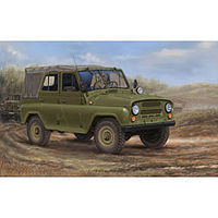 Trumpeter Soviet UAZ-469 All-Terrain Vehicle Plastic Model Military Vehicle 1/35 Scale #2327