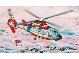 Trumpeter SA365N Dauphin Helicopter Plastic Model Kit 1/48 Scale #2816