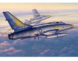 Trumpeter F100C Super Sabre Fighter Aircraft Plastic Model Airplane Kit 1/48 Scale #2838