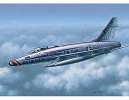 Trumpeter F100D Super Sabre Fighter Aircraft Plastic Model Airplane Kit 1/48 Scale #2839