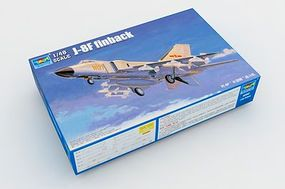 Trumpeter PLA J-8IIF Chinese Fighter Aircrraft Plastic Model Airplane Kit 1/48 Scale #2847