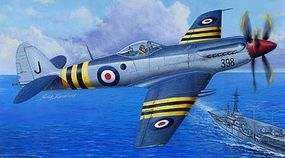 Trumpeter Supermarine Seafang F.Mk.32 Fighter Aircraft Plastic Model Airplane Kit 1/48 Scale #2851