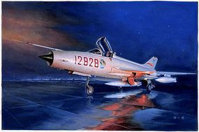 Trumpeter J-7G Chinese Fighter Plastic Model Airplane Kit 1/48 Scale #2861