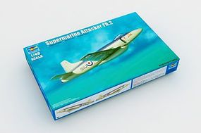 Trumpeter Supermarine Attacker FB.2 Fighter Aircraft Plastic Model Airplane Kit 1/48 Scale #2867