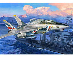 Trumpeter F14D Super Tomcat Fighter Aircraft Plastic Model Airplane Kit 1/32 Scale #3203