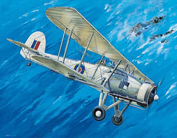 Trumpeter Fairey Swordfish Mk II WWII Biplane Aircraft Plastic Model Airplane Kit 1/32 Scale #3208