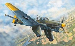 Trumpeter Junkers JU-87A Stuka German Dive Bomber Plastic Model Airplane Kit 1/32 Scale #3213