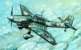 Trumpeter Junkers Ju-87D Stuka German Aircraft Plastic Model Airplane Kit 1/32 Scale #3217